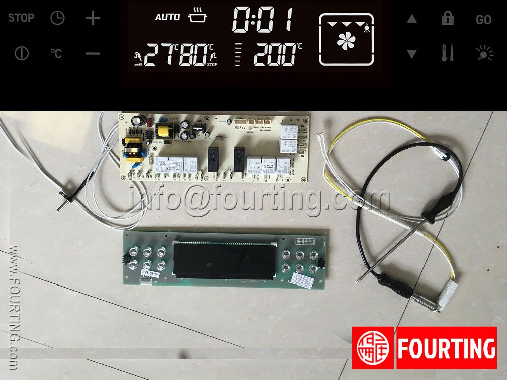 electric oven control switch system